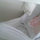 wiegje in onze slaapkamer