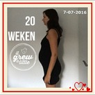 20 weken Alweer 20 weekjes draag ik een wonder bij me!!