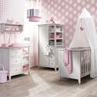 babykamer +2 bedjes erbij babykamer voor onze tweeling , moeten nog 2 bedjes bij!