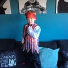 Gide Een stoere piraat bij zijn zesde verjaardag!