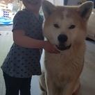 dochter en hond BFF's