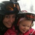 samen met dochter nog met 21 weken 6 pistes geskied