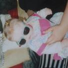 Ik ben lise, 14 jaar nu, en dit is een babyfoto van mij :)