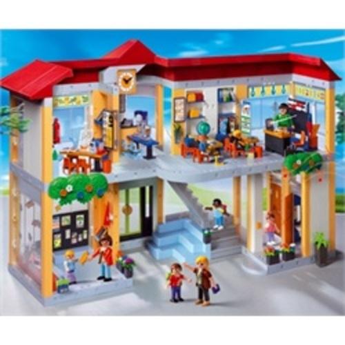 Playmobil compleet ingerichte school 4324 baby en for Een doosje vol geluk waar te koop