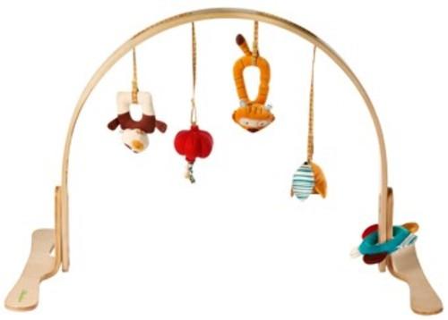 houten speelboog 39 ecodoux 39 baby en zwangerschap prijsvergelijker. Black Bedroom Furniture Sets. Home Design Ideas