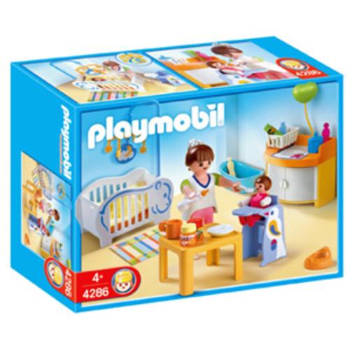 Playmobil babykamer 4286 baby en zwangerschap for Casa moderna playmobil 6784