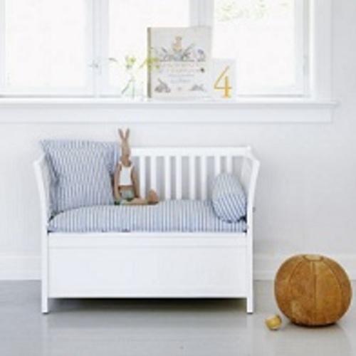 oliver furniture opbergbankje wit showroommodel baby en. Black Bedroom Furniture Sets. Home Design Ideas