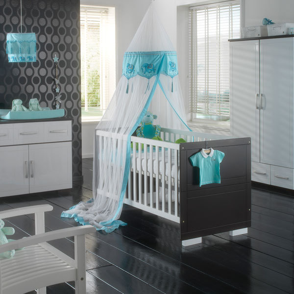 babykamer casablanca wit / noten | baby en zwangerschap, Deco ideeën